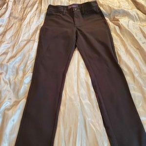 Size 0 womens black slacks NYDJ